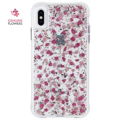 """美國 Case-Mate iPhone Xs Max (6.5"""") Karat Petals 細緻碎花防摔手機保護殼 - 粉色"""