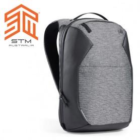 澳洲 STM Myth 夢幻系列 18L (15'') 防潑水緊緻後背包 - 灰岩黑