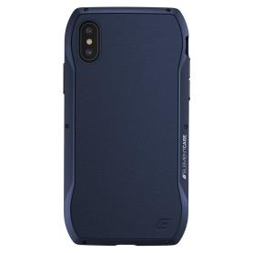 美國 Element Case iPhone Xs / X (5.8吋) Enigma 艾格瑪真皮防摔殼 - 藍