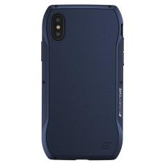 美國 Element Case iPhone XS Max (6.5吋) Enigma 艾格瑪真皮防摔殼 - 藍