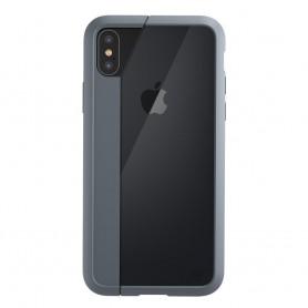 美國Element Case iPhone XS / X Illusion 閃靈魅影手機保護殼 - 霧隱灰