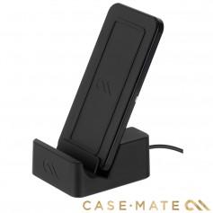 美國 Case-Mate 可立式雙頻無線閃充充電座 - 黑