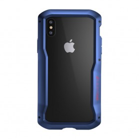 美國Element Case iPhone XS Max VAPOR-S 幽靈煙鬼 - 隱藍