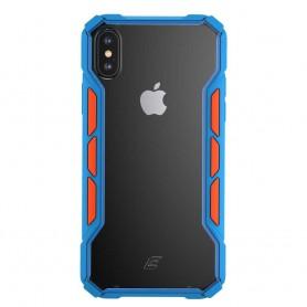 美國Element Case iPhone XS/X Rally 賽拉利手機保護殼 - 藍/橘色