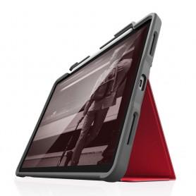 澳洲 STM Dux Plus iPad Pro 12.9 吋 (2018) 專用軍規防摔平板保護殼 - 紅