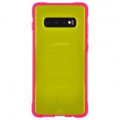 美國 Case-Mate Samsung Galaxy S10+ Tough Neon 經典霓虹 - 霓虹綠/粉紅