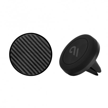 美國 Case-Mate 強力磁吸式手機車架組 - 碳纖維造型貼片