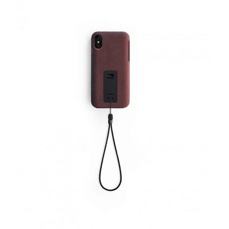 美國 Lander iPhone Xs / X (5.8吋) Moab 防摔手機保護殼 - 紅 (附手繩)