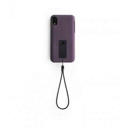 美國 Lander iPhone XR (6.1吋) Moab 防摔手機保護殼 - 紫 (附手繩)