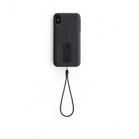 美國 Lander iPhone XS Max (6.5吋) Moab 防摔手機保護殼 - 黑 (附手繩)