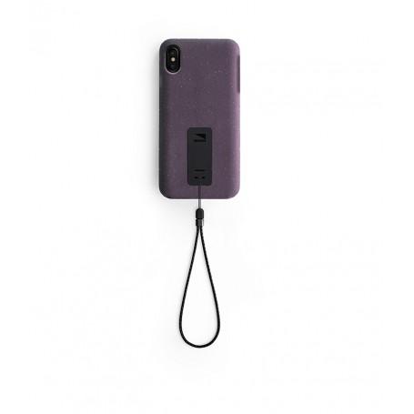 美國 Lander iPhone XS Max (6.5吋) Moab 防摔手機保護殼 - 紫 (附手繩)