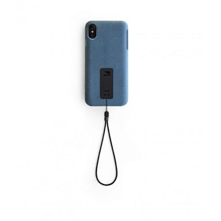 美國 Lander iPhone XS Max (6.5吋) Moab 防摔手機保護殼 - 藍 (附手繩)