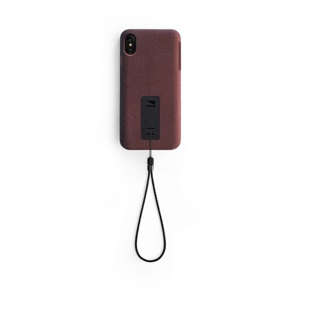 美國 Lander iPhone XS Max (6.5吋) Moab 防摔手機保護殼 - 紅 (附手繩)