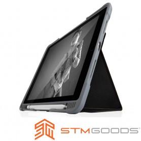 澳洲STM Dux Plus Duo iPad 9.7吋 (第六代) 專用軍規防摔殼 - 黑