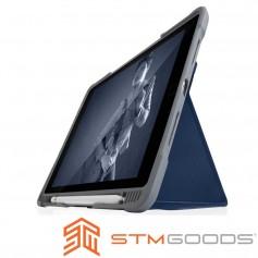 分享 澳洲STM Dux Plus Duo iPad 9.7吋 (第六代) 專用軍規防摔殼 - 藍