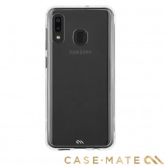 美國 Case-Mate Samsung Galaxy A20(6.4)Tough Clear防摔手機保護殼-透明