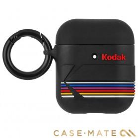 美國 CASE●MATE AirPods 柯達聯名款保護套 - 黑色 贈掛環及磁性防丟繩