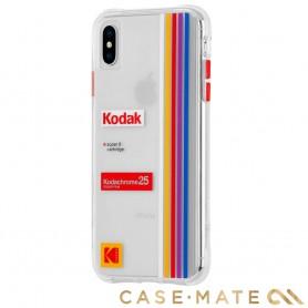 美國 CASE●MATE iPhone Xs / X (5.8) Kodak 柯達聯名款強悍防摔殼 - 透明