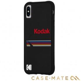 美國 CASE●MATE iPhone Xs / X (5.8) Kodak 柯達聯名款強悍防摔殼 - 霧黑