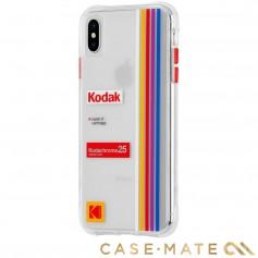 """美國 CASE●MATE iPhone Xs Max (6.5"""") Kodak 柯達聯名款強悍防摔殼 - 透明"""