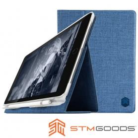 澳洲 STM Atlas iPad 9.7吋通用款高質感翻蓋平板保護殼 - 淺紫藍