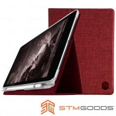 澳洲 STM Atlas iPad 9.7吋通用款高質感翻蓋平板保護殼 - 深紅