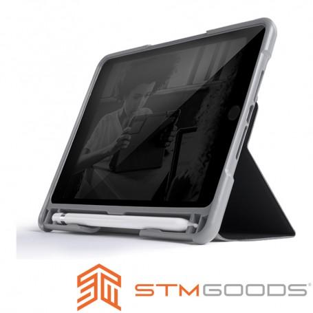 澳洲 STM Dux Plus Duo iPad Mini 2019 / iPad Mini 5 專用內建筆槽軍規防摔殼 - 黑
