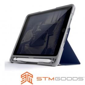 澳洲 STM Dux Plus Duo iPad Mini 2019 / iPad Mini 5 專用內建筆槽軍規防摔殼 - 深夜藍