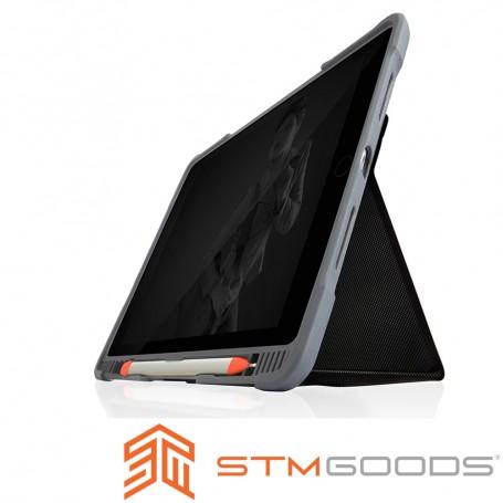 澳洲 STM Dux Plus Duo iPad Air (第三代)10.5吋專用內建筆槽軍規防摔殼 - 黑