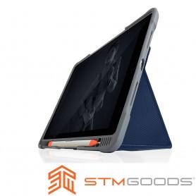 澳洲 STM Dux Plus Duo iPad Air (第三代)10.5吋專用內建筆槽軍規防摔殼 - 深夜藍