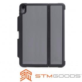 澳洲STM Dux Shell for Folio iPad Pro 12.9 吋(2018)專用軍規防摔殼 - 黑