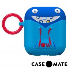 美國 CASE●MATE AirPods 可愛怪物保護套 - 有點白爛的崔基 - 藍