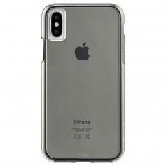 美國 Case-Mate iPhone X Naked Tough 雙層防摔手機保護殼 - 煙霧黑