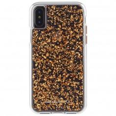美國 Case-Mate iPhone X Karat 玫瑰金箔雙層防摔手機保護殼