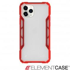美國 Element Case iPhone 11 Pro Rally 抗刮科技軍規殼 - 透紅