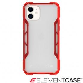 美國 Element Case iPhone 11 Rally 抗刮科技軍規殼 - 透紅