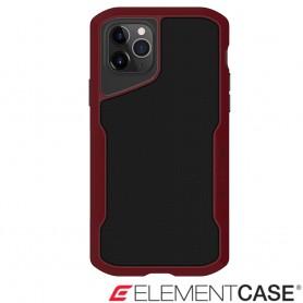 美國 Element Case iPhone 11 Pro Shadow 流線手感軍規殼 - 紅黑