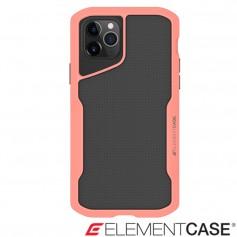 美國 Element Case iPhone 11 Pro Shadow 流線手感軍規殼 - 粉橘