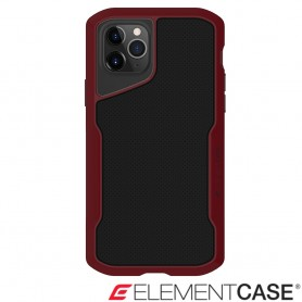 美國 Element Case iPhone 11 Pro Max Shadow 流線手感軍規殼 - 紅黑