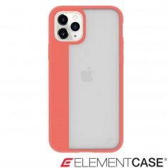 美國 Element Case iPhone 11 Pro Illusion 輕薄幻影軍規殼 - 珊瑚橘