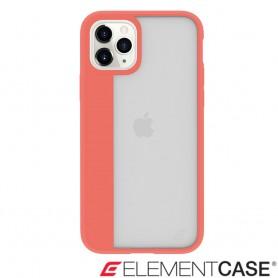美國 Element Case iPhone 11 Pro Max Illusion 輕薄幻影軍規殼 - 珊瑚橘