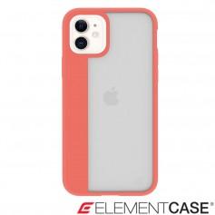 美國 Element Case iPhone 11 Illusion 輕薄幻影軍規殼 - 珊瑚橘