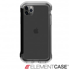 分享 美國 Element Case iPhone 11 Pro Rail 神盾軍規殼 - 晶透黑