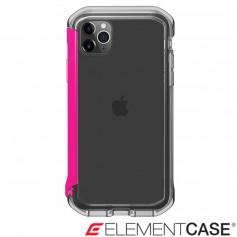 美國 Element Case iPhone 11 Pro Rail 神盾軍規殼 - 晶透粉