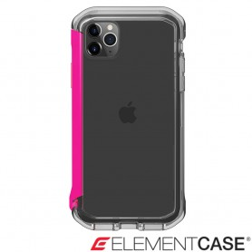 美國 Element Case iPhone 11 Pro Max Rail 神盾軍規殼 - 晶透粉
