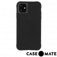 美國 Case●Mate iPhone 11 Tough Smoke 強悍防摔手機保護殼 - 霧透黑 (贈原廠強化玻璃貼)