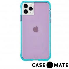 美國 Case●Mate iPhone 11 Pro Tough Neon 經典霓虹強悍防摔手機保護殼 - 紫/藍綠