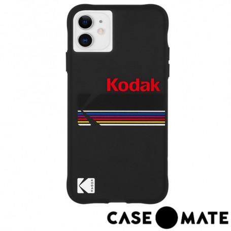 美國 CASE●MATE iPhone 11 Kodak 柯達聯名款強悍防摔殼 - 霧黑