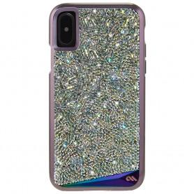 美國 Case-Mate iPhone X Brilliance 時尚水鑽雙層防摔手機保護殼 - 彩虹