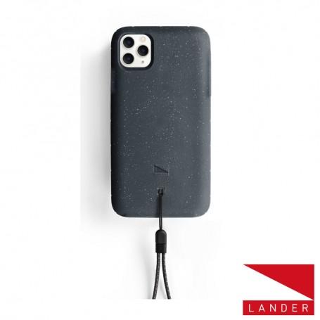 美國 Lander iPhone 11 Pro (5.8吋) Moab 防摔手機保護殼 - 星空黑 (附手繩)